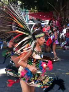 Aztec Dancer, 5/2013 Embajadores, Guanajuato