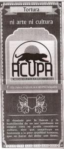 ACULPA flyer
